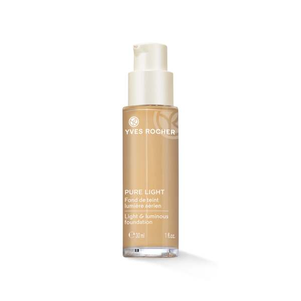 Pure Light Make-up-Fluid Strahlender Teint, perfekte Hautanpassung