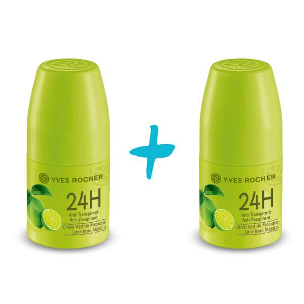 1+1 Gratis: Deo-Roll-on Limette